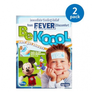 (2 Pack) Be Koool Soft Gel Sheets for Kids, 4 count @ Walmart