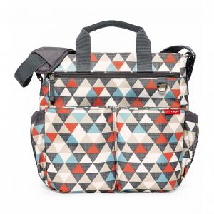 Skip Hop Duo Signature Diaper Bag - Triangles