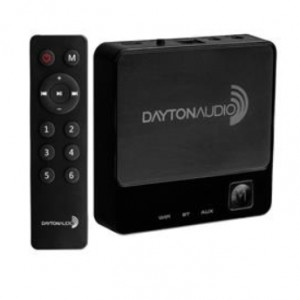 Dayton Audio WBA31 Wireless Wi-Fi & Bluetooth Audio Receiver with IR Remote