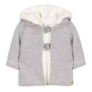 Tartine et Chocolat Girls' Knit Take Me Home Jacket - Baby