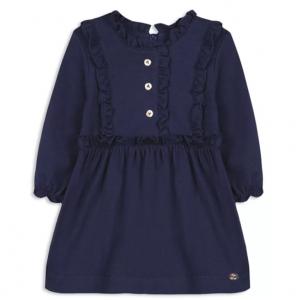 Tartine et Chocolat Girls' Ruffle Trim Dress - Baby