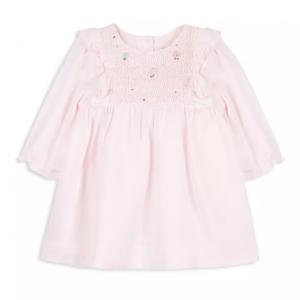 Tartine et Chocolat Girls' Smocked & Embroidered Dress - Baby