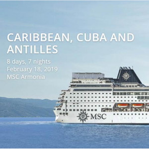 MSC Cruises offer - 7 nights Cuba Cruises From Miami + Unlimited select drinks