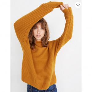 Belmont Mockneck Sweater in Coziest Yarn