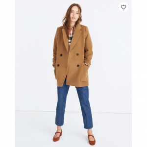 Hollis Double-Breasted Coat
