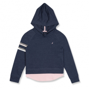 TODDLER GIRLS' FRENCH TERRY GRAPHIC HOODIE (2T-4T)