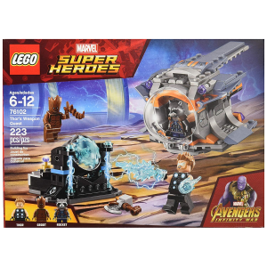 LEGO Marvel Super Heroes Avengers: Infinity War Thor's Weapon Quest 76102 Building Kit