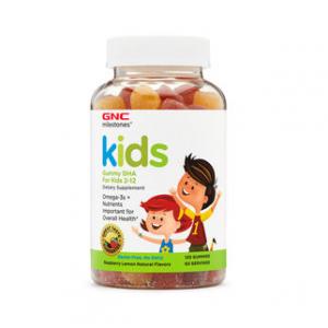 GNC MILESTONES® KIDS GUMMY DHA FOR KIDS 2-12
