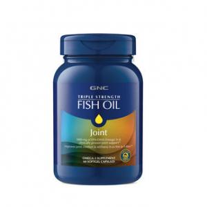 GNC TRIPLE STRENGTH FISH OIL PLUS JOINT