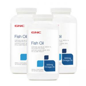 GNC FISH OIL BUNDLE - 300 MG