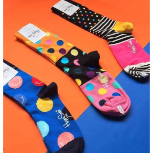 Spring/Summer 2019: 15% off + Free Shipping @Happy Socks