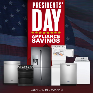 President's Day Sale: up to $2000 off Samsung, LG, Maytag, Whirlpool & More Appliances @ Costco
