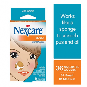 $6.08 (Was $7.99) For Nexcare Acne Cover, Helps Blemishes Clear, Transparent, 36 Count @ Amazon