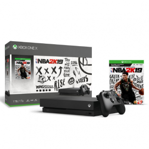 1TB Xbox One X NBA 2K19 Console Bundle @ Rakuten