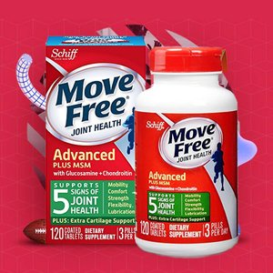 Move Free Advanced Plus MSM, 120 tablets for $13.77 @ Amazon