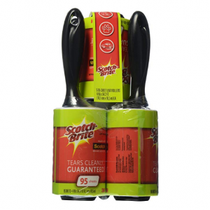 Scotch-Brite Lint Roller Combo Pack, 5-Rollers, 95-Sheets/Roller (475 Sheets Total) @ Amazon