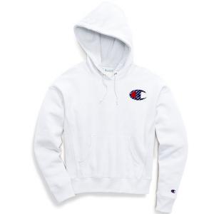 Champion Life® Women's Reverse Weave® Pullover Hood, Sublimated Big C Logo