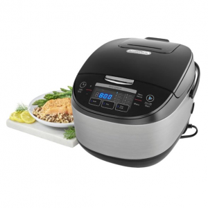 $50 off Insignia™ - 20-cup Rice Cooker - Stainless Steel @ Best Buy