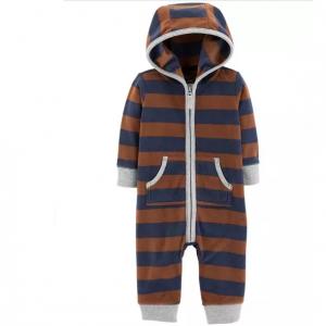 Carter's Bear Hooded Fleece Jumpsuit