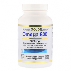 California Gold Nutrition, Omega 800 by Madre Labs