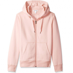 $19 for Amazon Essentials Men's Full-Zip Hooded Fleece Sweatshirt @ Amazon
