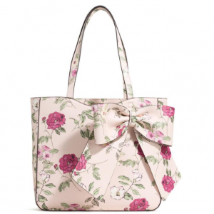 CANELLE FLORAL PRINTED TOTE