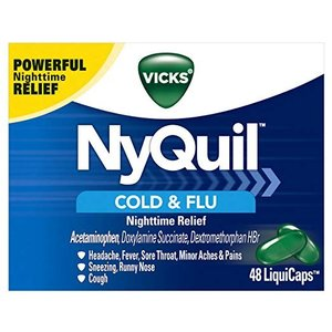 Vicks NyQuil Cough, Cold & Flu Nighttime Relief