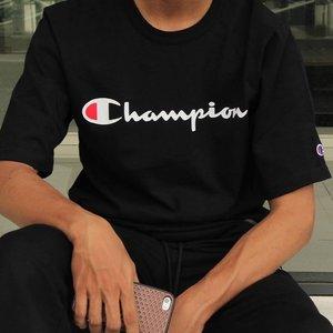 Low to $11.60 Champion Men's Classic Jersey Script T-Shirt @Amazon.com