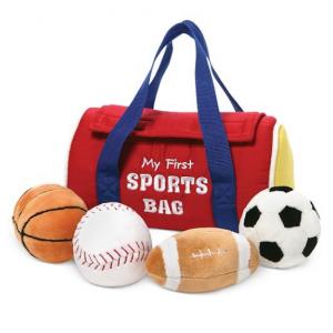 Gund® Baby My First Sports Bag Playset Toy