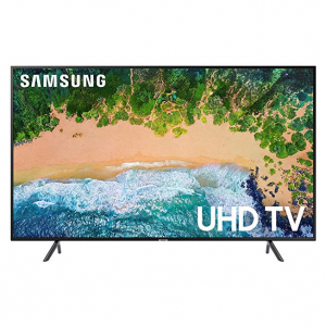 "Samsung UN55NU7100 Flat 55"" 4K UHD 7 Series Smart TV 2018 @ Amazon"