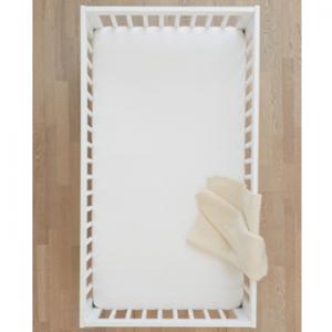 Knit Crib Sheet In Organic Cotton