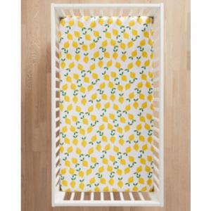 Images HannaSoft™ Lemonade Crib Sheet