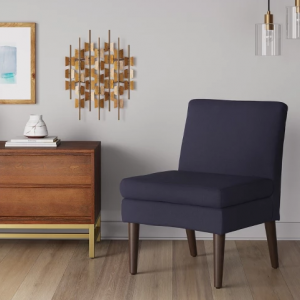 Winnetka Modern Slipper Chair Navy - Project 62