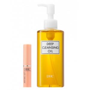 DHC薬用ディープクレンジングオイル&リップクリーム セット