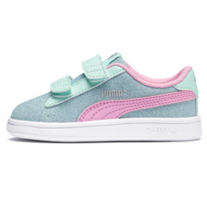 Puma Smash v2 Glitz GlamV Preschool Sneakers