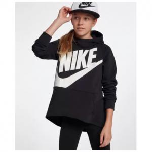 Big Kids' (Girls') Pullover Hoodie Nike Sportswear