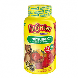 L'il Critters Immune C Plus Zinc and Echinacea, 190 Count