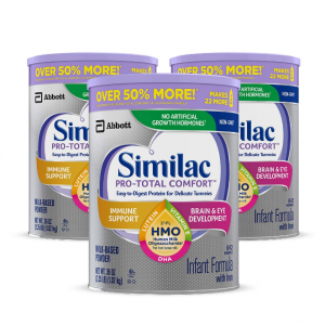 Similac Pro-Total Comfort Infant Formula, Non-GMO, Easy-to-Digest, Gentle Formula, with 2'-FL HMO,