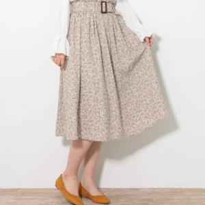 ≪USED≫・花柄スカート