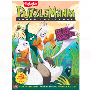 Puzzlemania® Super Challenge Book Club Ages 9+