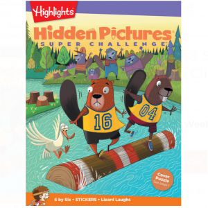 Hidden Pictures® Super Challenge Book Club Ages 9+