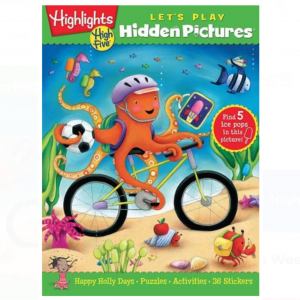 Hidden Pictures® LET'S PLAY Book Club Ages 3-6