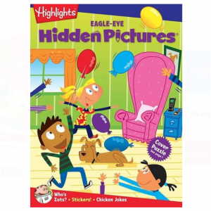 Hidden Pictures® EAGLE-EYE Book Club Ages 6+