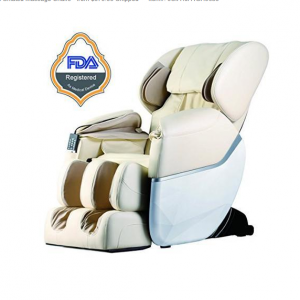 BestMassage EC77 Electric Full Body Shiatsu Massage Chair Recliner Zero Gravity w/Heat - Beige