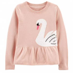 Swan Peplum Sweater