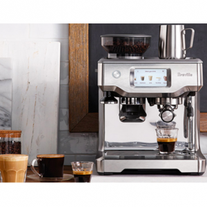 $539.65 off Breville BES880BSS Barista Touch Espresso Maker, Stainless Steel @ Amazon
