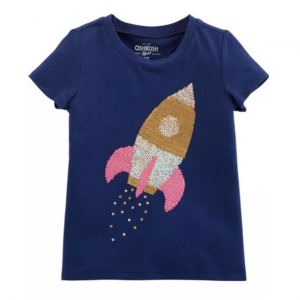 Sequin Rocket Tee
