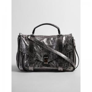 PROENZA SCHOULER Metallic Medium PS1 leather crossbody bag