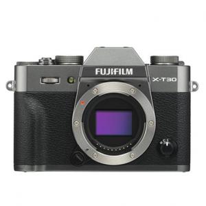 Fujifilm X-T30 Mirrorless Digital Camera Body - Charcoal Silver