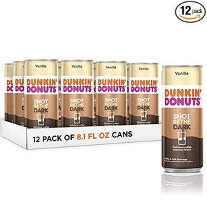 Dunkin Donuts 灌裝濃縮咖啡 香草口味 僅售 $7.38